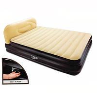 Велюровая кровать BESTWAY 67483 встроенный насос ***