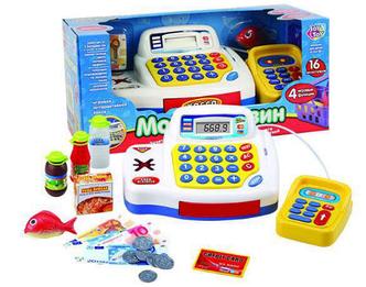Игровой набор Кассовый аппарат 7020 Мой магазин Joy Toy ( Play Smart)