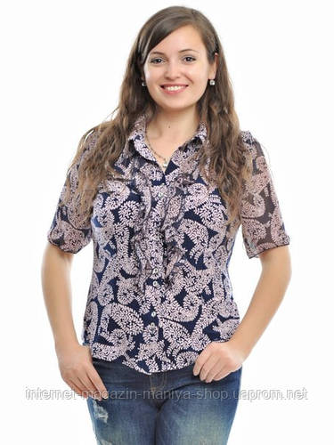 Блузка женская батал