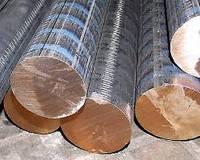 Пруток бронзовый 60, 65, 70 БрАЖ 9-4 БрОЦС 555 БрАМц 9-2 круг 60 65 70 мм ГОСТ 1628-78