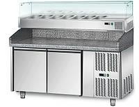 Холодильный стол для пиццы GGM Gastro POS158N#AGS153N
