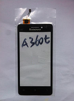 Оригинальный тачскрин / сенсор (сенсорное стекло) для Lenovo A360t (черный цвет)
