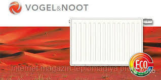 Радиаторы c боковым подключением VOGEL&NOOT тип 22 K