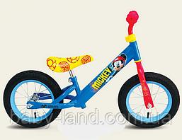 Велобег детский беговел 12 дюймов Микки Маус C161201