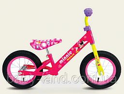 Велобег детский беговел 12 дюймов Минни Маус C161203