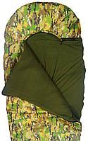 """Спальный мешок одеяло Champion """"WINTER"""" с капюшоном камуфляжный"""