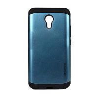 Бампер для Meizu M2 Note - SGP Slim Armor, синий