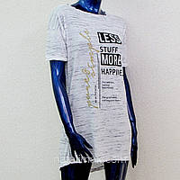 Туника женская- платье с удлинен. спинкой, от 42 по 48 р/р. Турция. Женские туники, платья, майки летние
