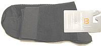 Носки в сетку высокие мужские темно-серые , фото 1