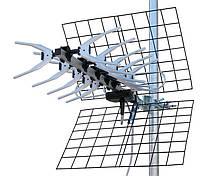 Антенна для цифрового приемника Т2 Romsat UHF-23EL, стандарт DVB-T, DVB-T2, 21-69 каналов, алюминий