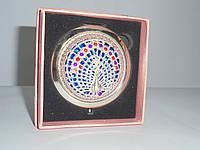 Зеркальце в подарочной упаковке , золото №7186, карманное, косметическое зеркальце, подарки для женщин