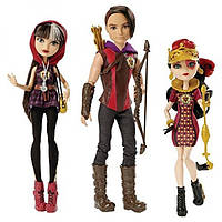 Ever After High Набор 3 куклы Сериз , Хантер (Охотник), Лиззи Tricastleon Doll 3-Pack