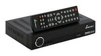 Приемник цифровой эфирный DVB T2 Eurosky ES-3011, поддержка стандартов H.264, MPEG-2, MPEG-4, пульт ДУ