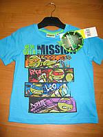 Детская футболка для мальчика Черепашки ниндзя 3, 4 года, Ninja Turtles