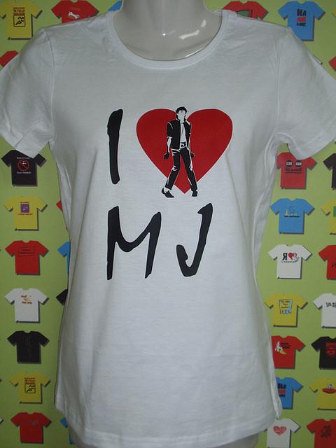 Футболка I love Michael