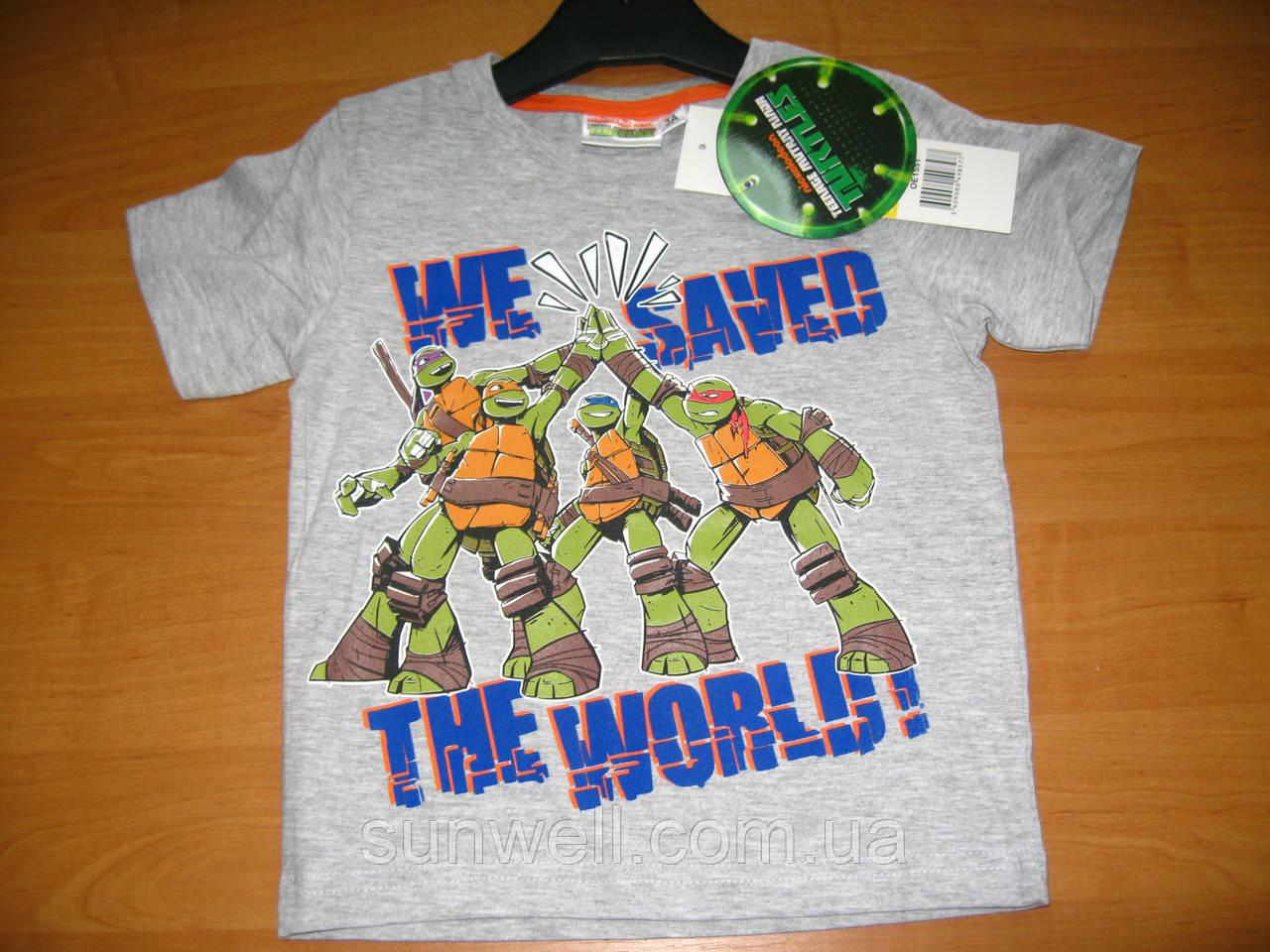 Детская футболка для мальчика Черепашки ниндзя 3 года, Ninja Turtles