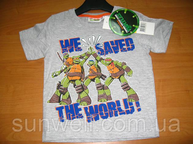 Детская футболка для мальчика Черепашки ниндзя 3 года, Ninja Turtles , фото 2