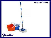 Набор для мытья полов (двухсекционное ведро) Magik Up Феникс