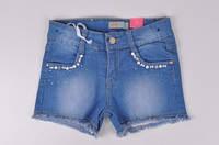 Шорты джинсовые для девочки L&G Роста в наличии : 128,140,152,164,176 арт.L-199 (Код: 2500002365803)