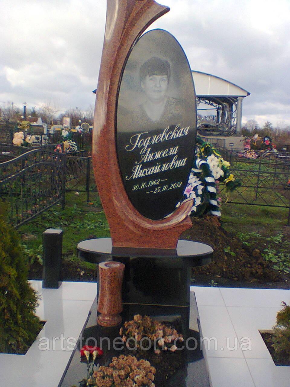 Памятник элитный из гранита №215