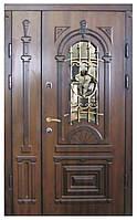 Двери входные полуторные Модель 22