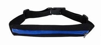 Сумка-чехол на пояс для бега 1 карман, непромокаемая спортивная поясная сумка