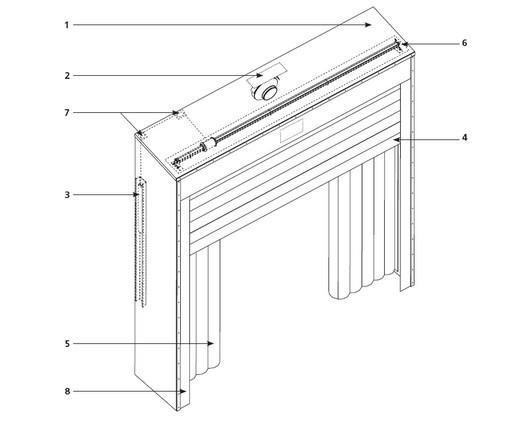 Надувной герметизатор Doorhan