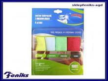 Ганчірки для витирання і прибирання (мікрофібра) 4 шт/уп Фенікс