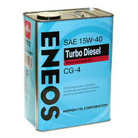ENEOS 15W40 CG-4, 1L (Удлиненный пробег) Масло моторное минеральное дизельное