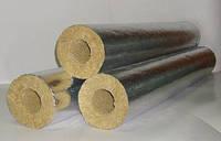 Базальтовый цилиндр для труб фольгированный диаметр 219 мм толщина 30 мм
