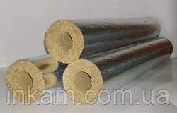 Утеплювач базальтовий фольгований діаметр 21 мм товщина 30 мм