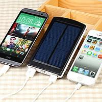 Солнечное портативное зарядное устройство Power Bank Solar 25000 mAh