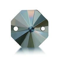 Стразы пришивные Asfour Октагон 14мм. Crystal