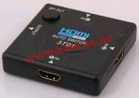 Коммутатор мониторный HDMI 3x1 Switch,Standart,черный (78.01.4350-10)
