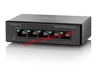 Коммутатор Cisco SB SF110D-05 5-Port 10/ 100 Desktop Switch (SF110D-05-EU)