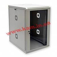 Шкаф 18U, 600х800х907 мм (Ш*Г*В), акриловое стекло, серый (UA-MGSWA188G)