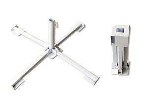 Подставка (крестовина) под зонт металлическая