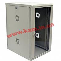 Шкаф 21U, 600х800х1040 мм (Ш*Г*В), акриловое стекло, серый (UA-MGSWA218G)
