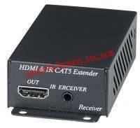 Коммутатор мониторный HDMI M/ F 70.0m,Extender (over Cat5/ 6x1) Act.,HQ,черный (78.01.6004-4)