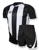 Футбольная форма игровая Europaw 001 (черный\белый)