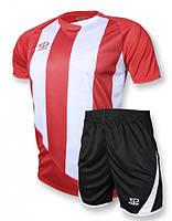 Футбольная форма игровая Europaw 001 (красный\белый)