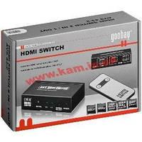 Коммутатор мониторный HDMI 2x1 Switch,Selector Active Plasma TV +пульт,Standart,черн (75.06.0811-20)