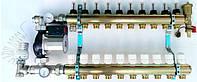 Система теплого пола на 2 контура WILO RS 25/4 (Германия) без байпаса