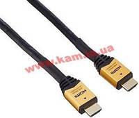 Кабель монитора-сигнальный HDMI M/ M 20.0m, HS+HEC Active Metal Gold D=8.0mm, HQ, че (78.01.4370-10)