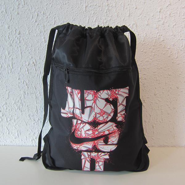 Рюкзак-мешок спортивный черный