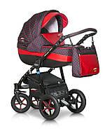 Детская универсальная коляска Verdi Pepe Eco 3 в 1 (02 Red Dots)