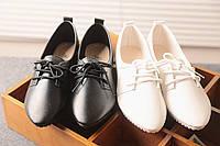 Стильные оксфорды для женщин. Молодежный стиль. Практичная обувь. Высокое качество. Купить онлайн. Код: КД140