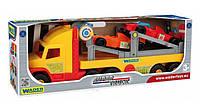 Игрушечный Перевозчик эвакуатор с авто Формула 36620 Wader Super Truck