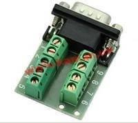 Терминалблок Terminalblock->COM/ DB9,/ F 9pin Pitch=5.0mm, HQ, зеленый (62.01.3120-10)