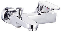 Смеситель для ванной Titania 35мм 006 короткий